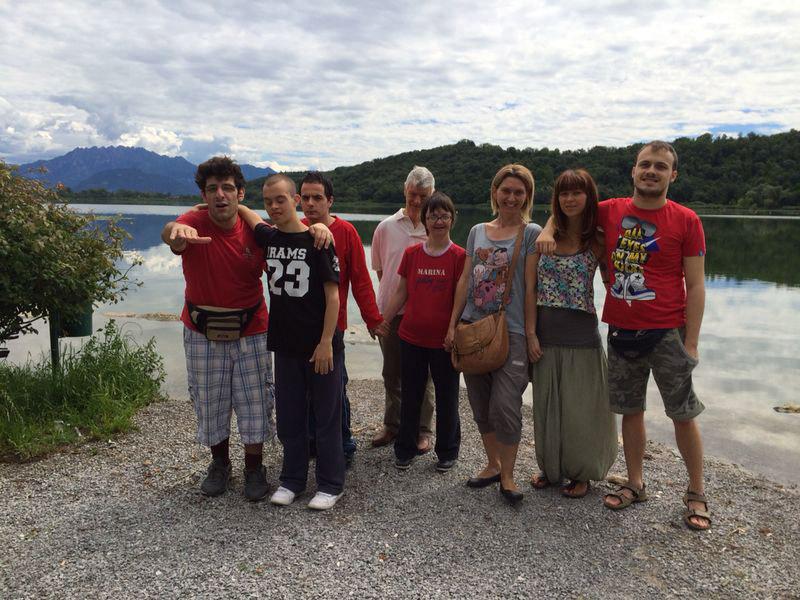 Gita al lago di Alserio