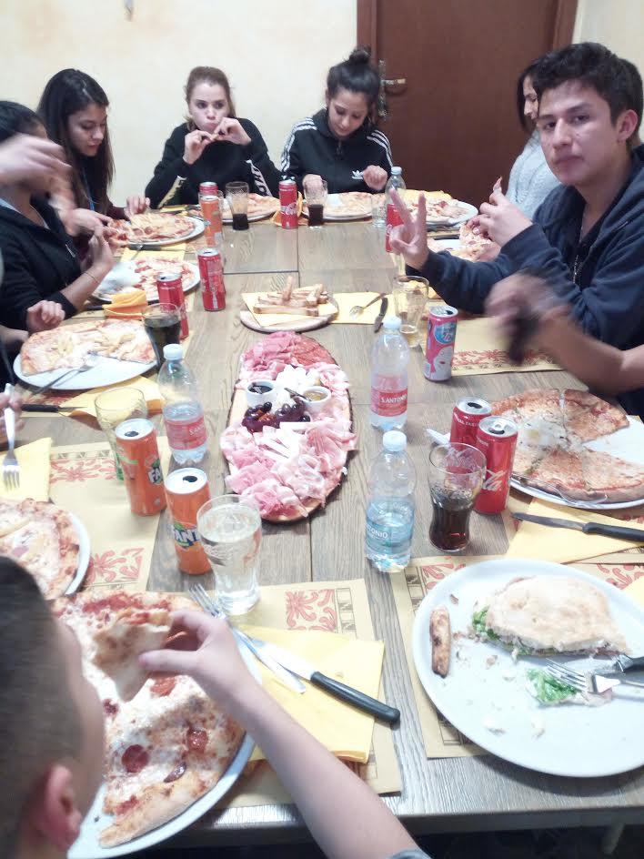 Una cena al CAG Piamarta